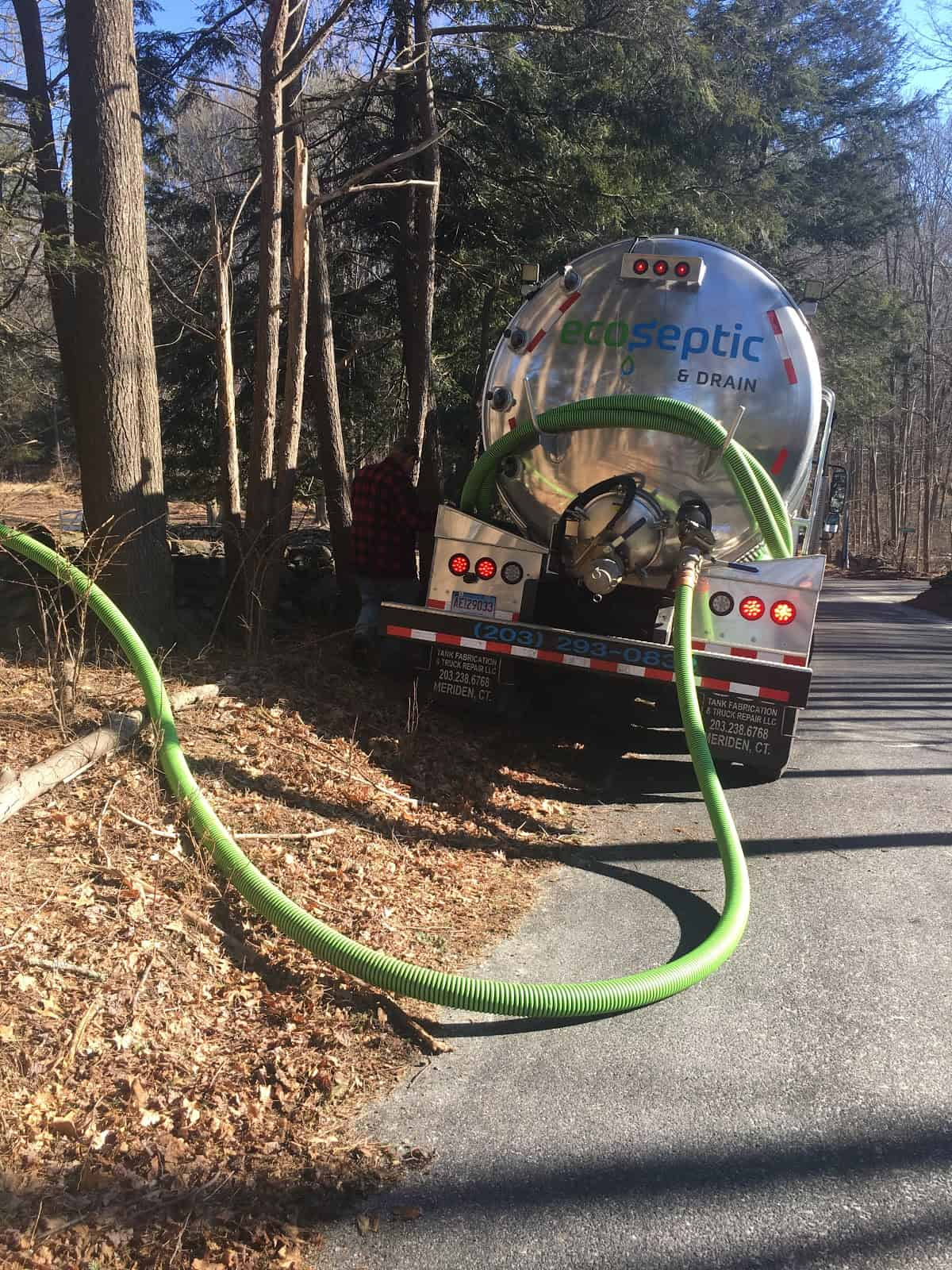 Septic pumping in westport ct